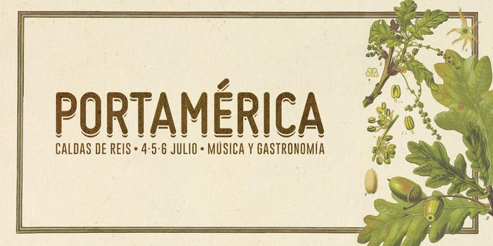 Portámerica. 4, 5 y 6 de julio en Caldas de Reis.