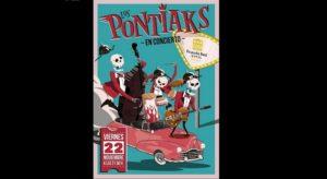 Los Pontiaks en concierto, este viernes en Hotel Pousada Real.