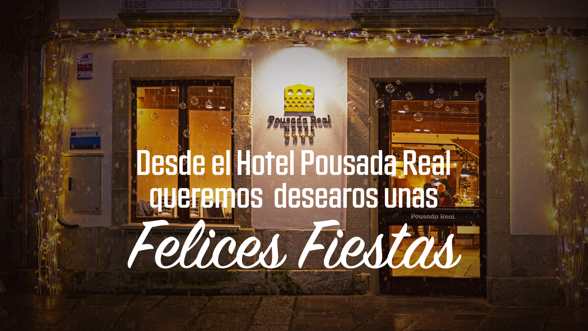 Hotel Pousada Real celebra su segunda Navidad